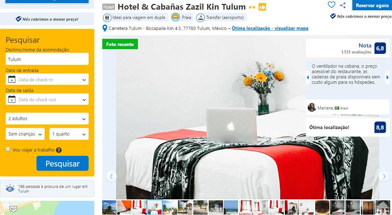 Estadia no Hotel & Cabañas Zazil Kin Tulum em Tulum