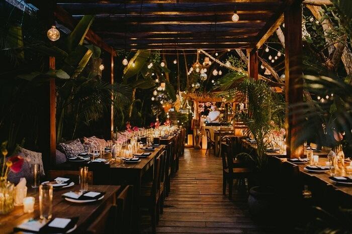 Restaurante para passar o Ano Novo em Tulum