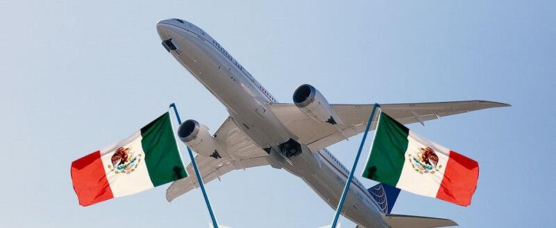 Tempo de avião até Tulum no México