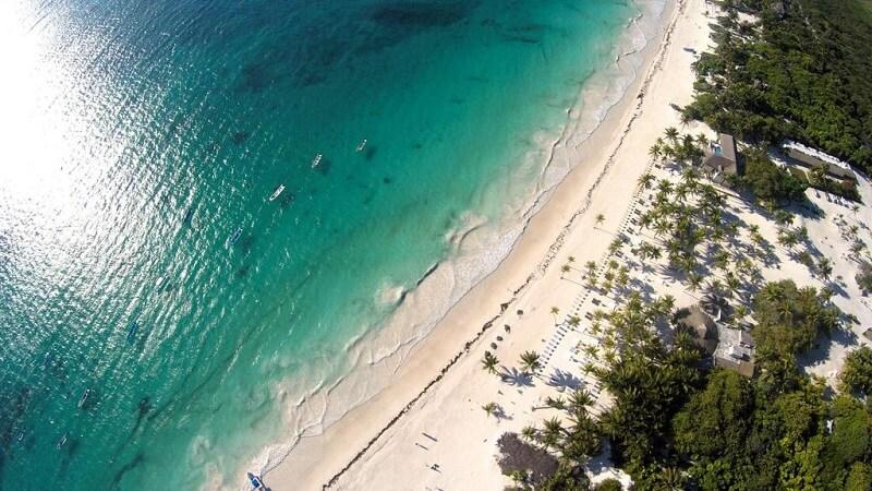 Playas más bellas de México: Playa Paraíso en Tulum