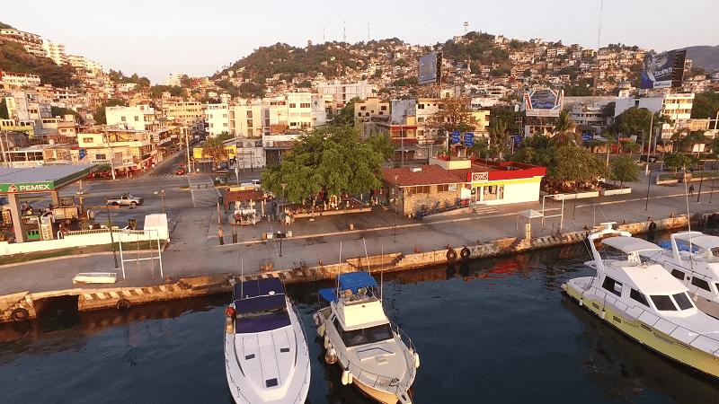 Visita à Acapulco no México
