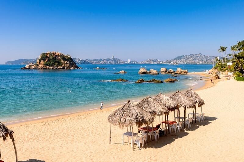Visita a Acapulco no México