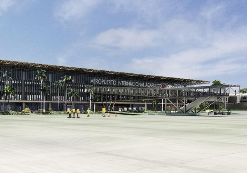 Aeroporto de Acapulco no México