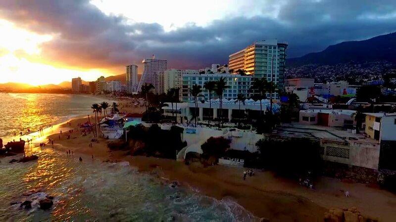 Pontos turísticos em Acapulco