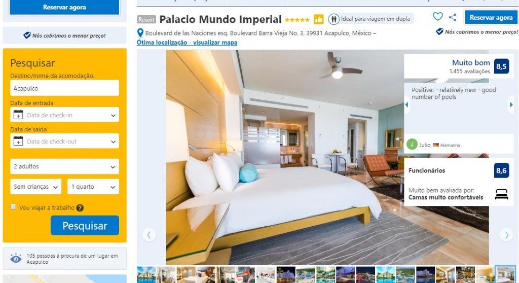 Hotel Palacio Mundo Imperial em Acapulco no México