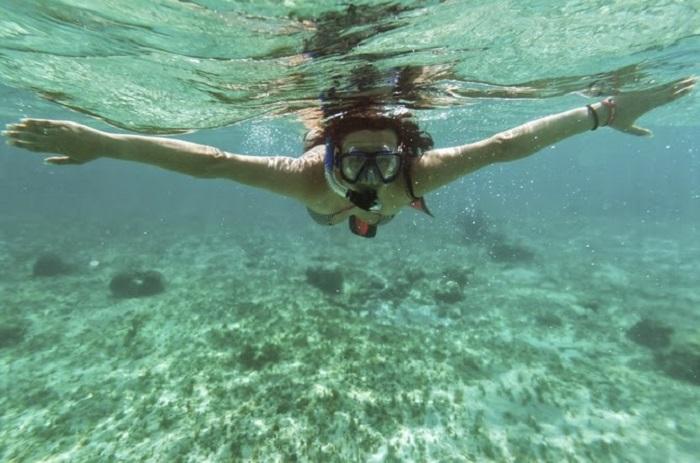 Ir com crianças na Ilha da Roqueta em Acapulco