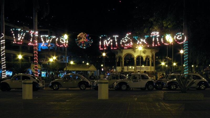 Noite em Acapulco no México