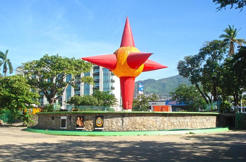 Ir com crianças no Parque Papagayo em Acapulco