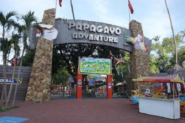 Parque Papagayo no inverno em Acapulco