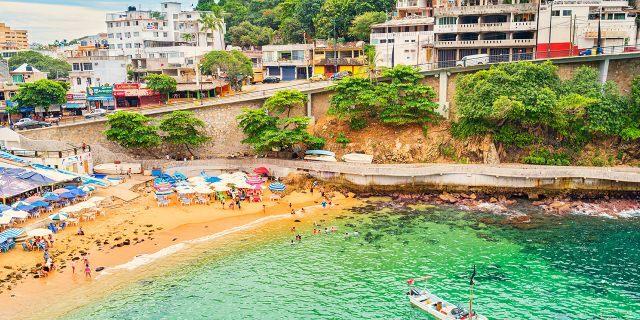 Ir com crianças nas praias em Acapulco