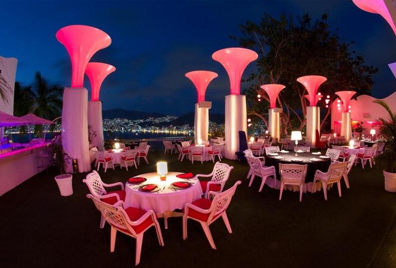 Restaurante Tony's em Acapulco