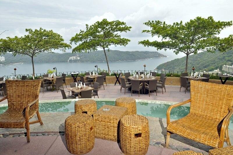 Roteiro de 1 dia em Acapulco: Restaurante