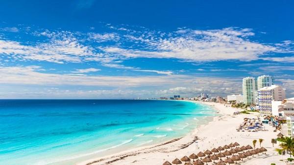 Visita a Playa Chac Mool em Cancún
