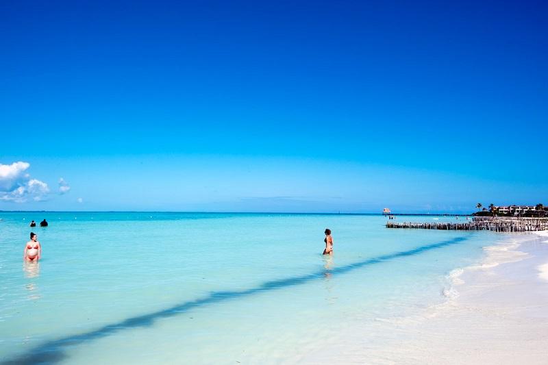 Playa Norte para disfrutar en Cancún
