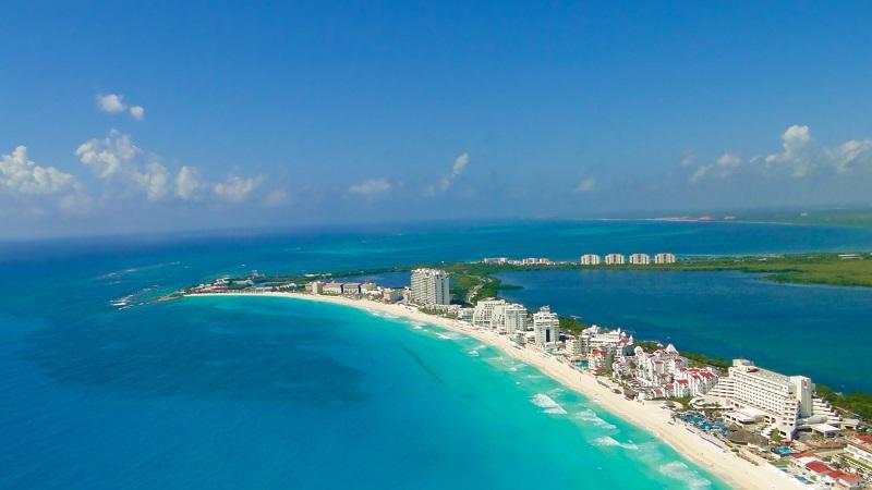 Cancún em agosto