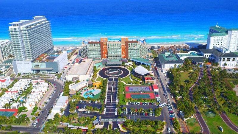 Movimiento de turistas y alojamiento en el mes de Mayo en Cancún