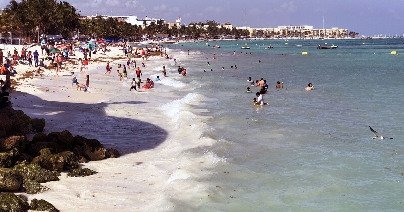 Movimentação de turistas no mês de janeiro em Cancún