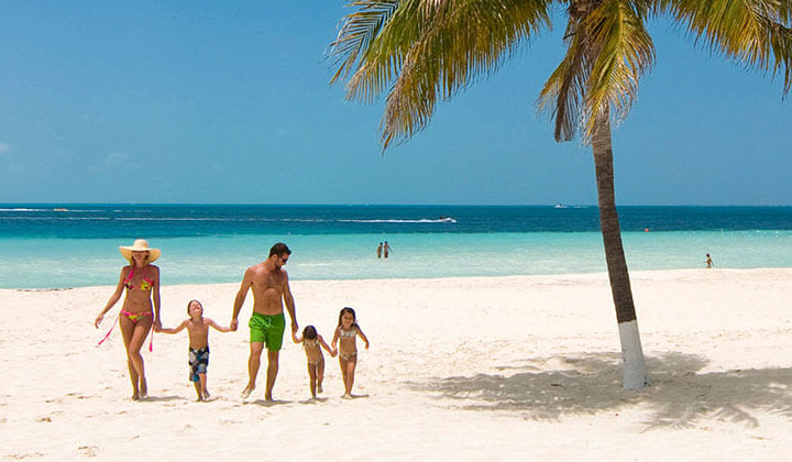 Cancún em janeiro