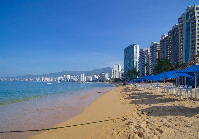 Icacos Beach em Acapulco