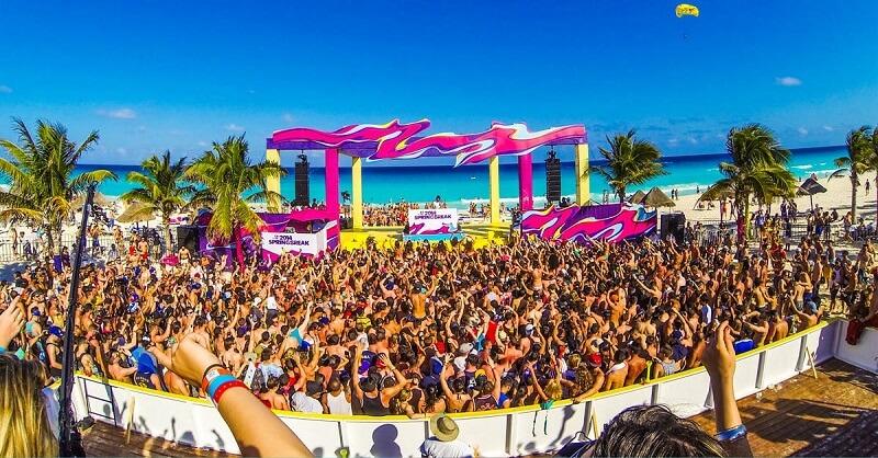 Spring Break en Cancún - Temporada Alta