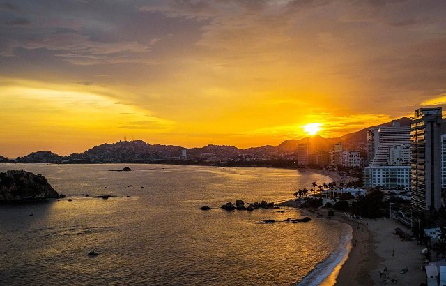 Mapa turístico de Acapulco