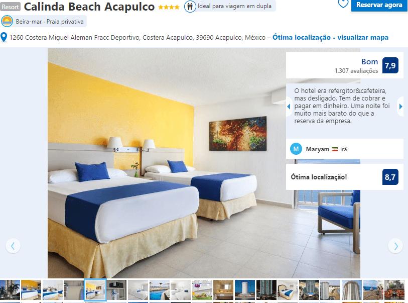 Resort Calinda Beach Acapulco em Acapulco