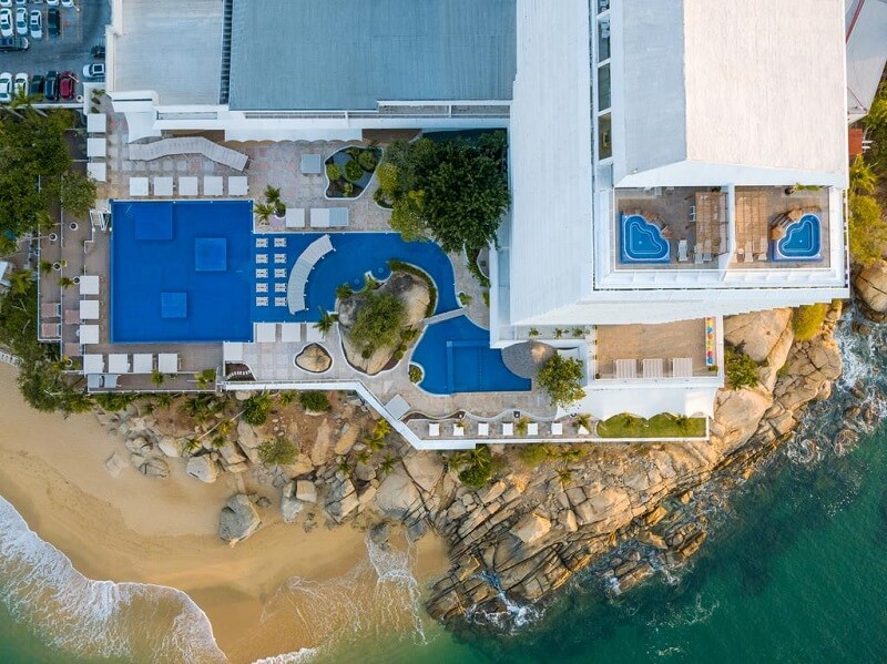 Hotel no centro turístico Fiesta Americana Acapulco Villas em Acapulco