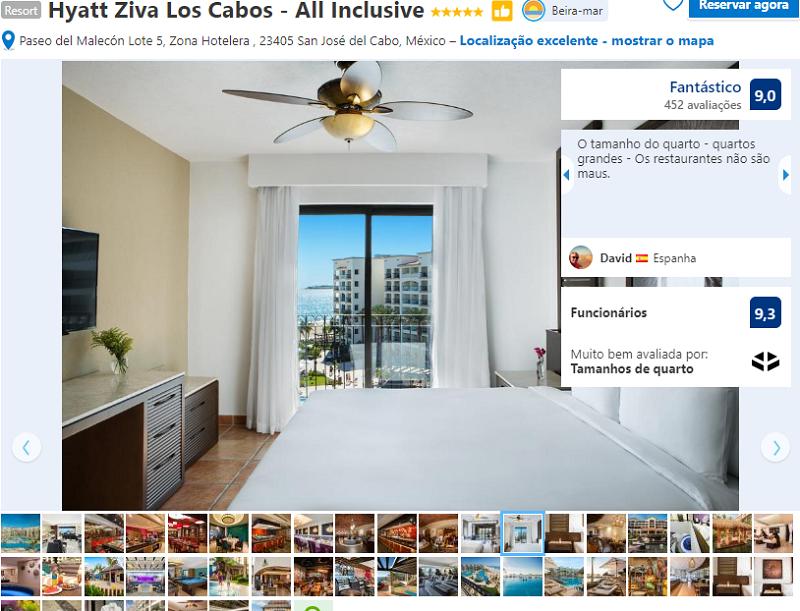 Habitación del Hotel Hyatt Ziva Los Cabos - All Inclusive en San José del Cabo