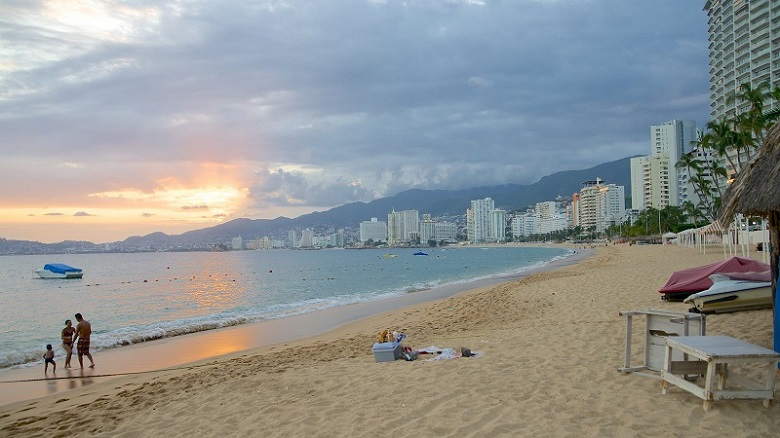 Praia Icacos em Acapulco