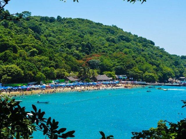 Ilha da Roqueta em Acapulco