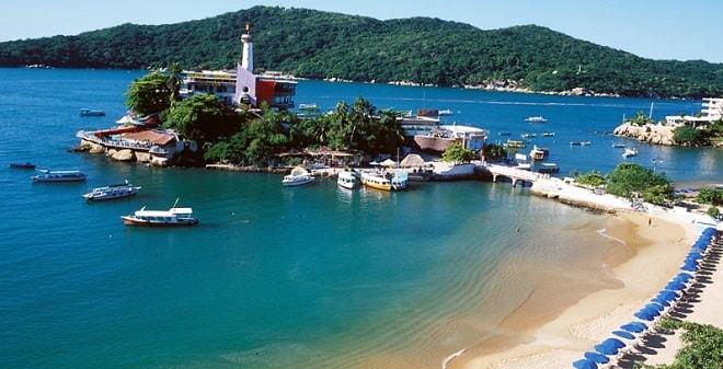 Passeio pela Ilha da Roqueta em Acapulco