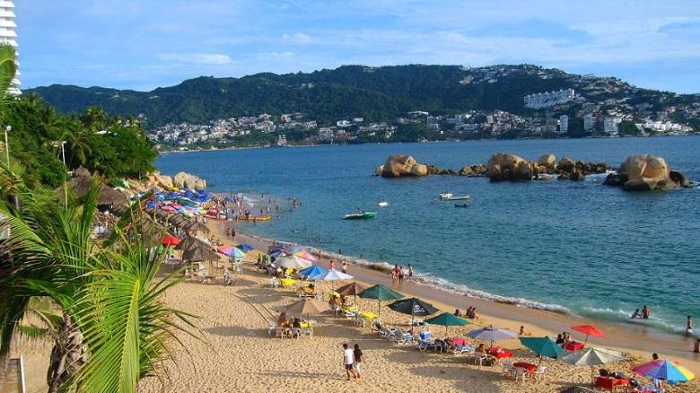Praia La Condesa em Acapulco