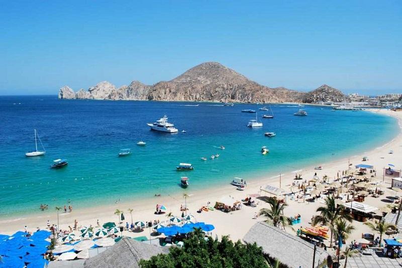 Playas en Los Cabos en México