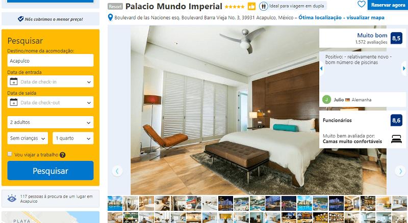 Palácio Mundo Imperial em Acapulco