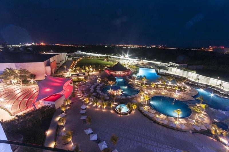 Hotel Resort Palácio Mundo Imperial em Acapulco