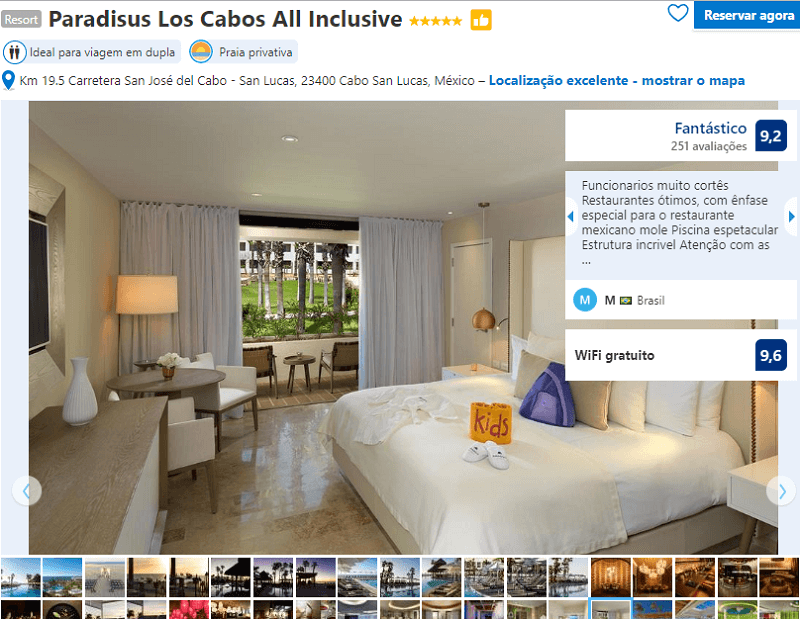 Habitación del Hotel Paradisus Los Cabos All Inclusive en Los Cabos en Cabo San Lucas
