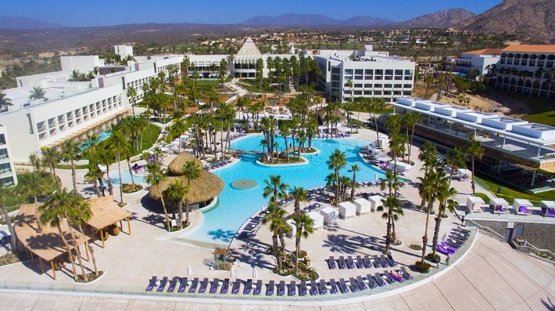Fachada del Hotel Paradisus Los Cabos All Inclusive en Los Cabos en Cabo San Lucas