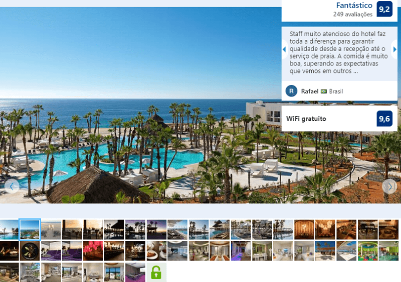 Fachada del Paradisus Los Cabos All Inclusive en Los Cabos en Cabo San Lucas