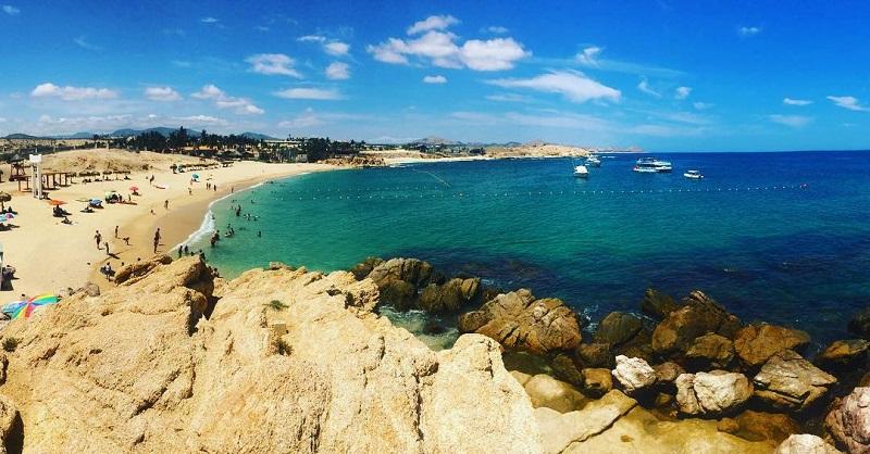 Playas más bellas en México: Playa Chile Bay en Los Cabos