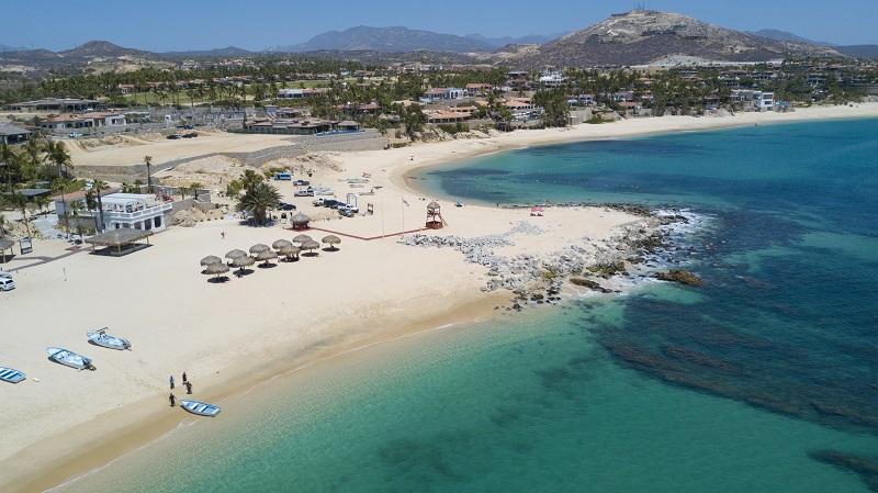 Visitando a Playa Palmilla em uma lua de mel em Los Cabos