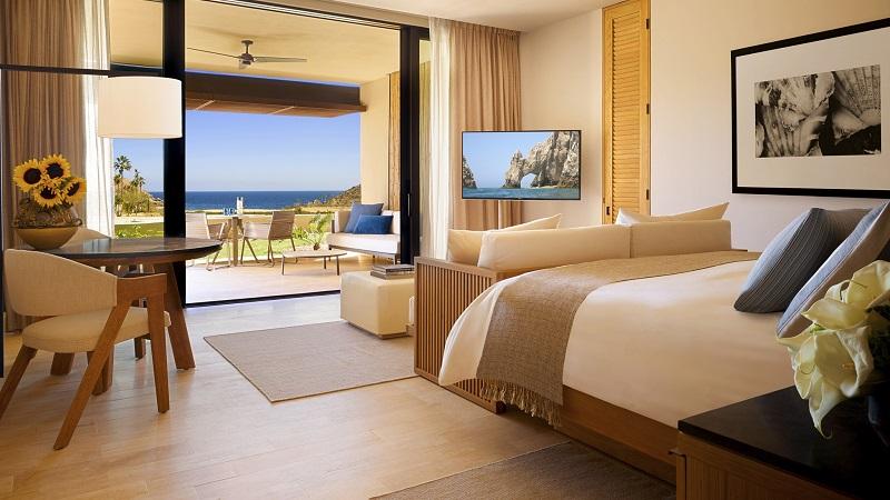 Habitación de lujo en un hotel de Los Cabos