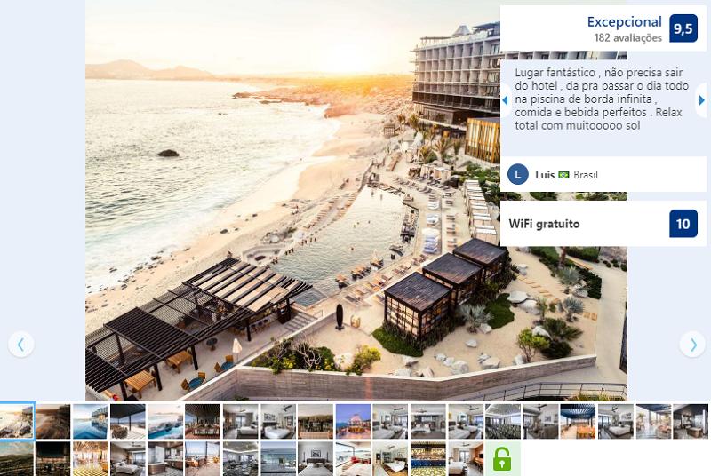 Fachada de The Cape - un hotel Thompson en Los Cabos en Cabo San Lucas