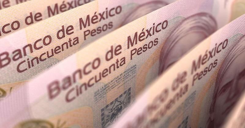Pesos mexicanos - dinero en efectivo