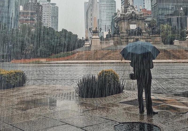 Temporada más lluviosa en Ciudad de México