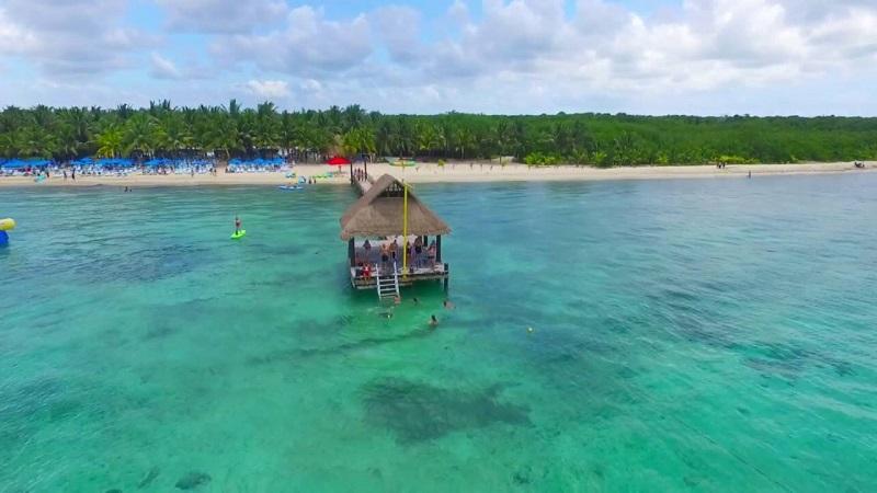 Isla de Cozumel en México