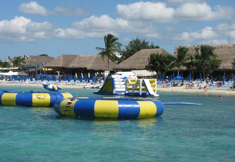 Playas más bellas de México: Playa Paraíso en Cozumel