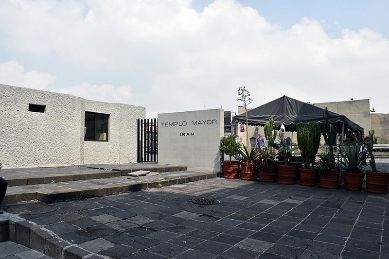 Entrada al Museo del Templo Mayor