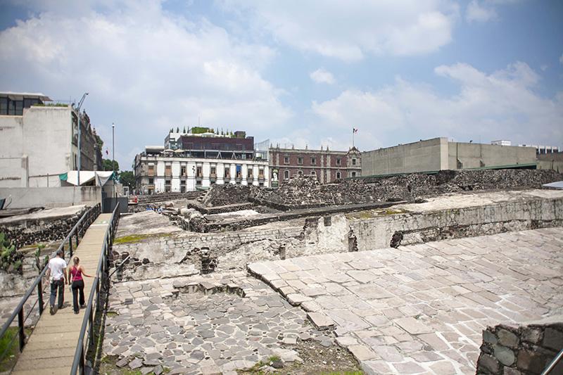 Museo del Templo Mayor en Ciudad de México