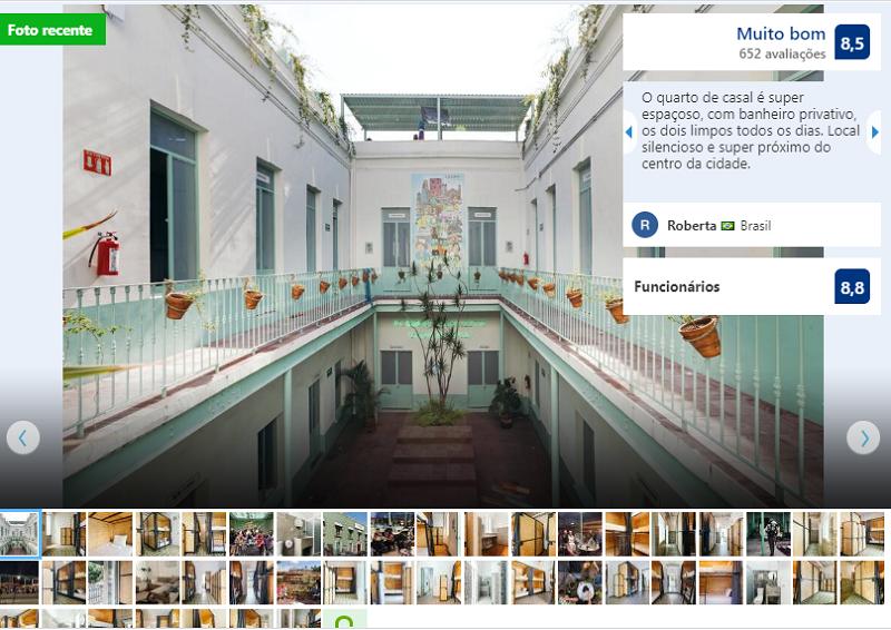 Fachada del Hostel Casa MX Alameda en Ciudad de México