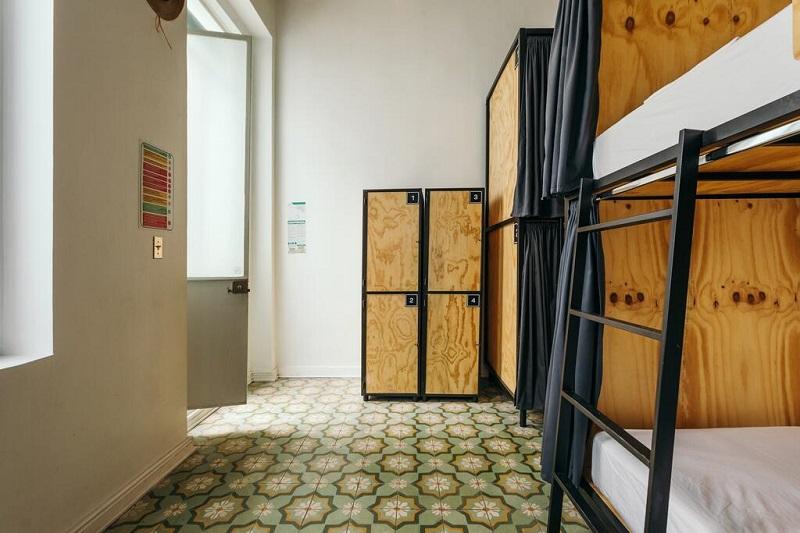 Habitación del Hostel Casa MX Alameda en la Ciudad de México